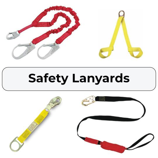 Fall Protection Lanyards and Lifelines