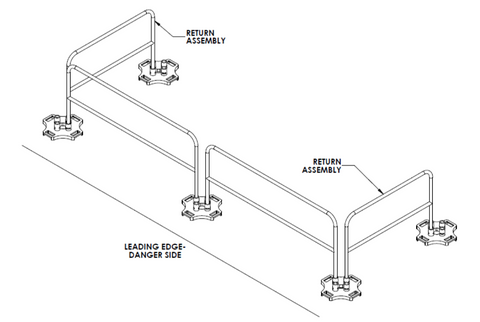 Safety Rail 2000 diagram