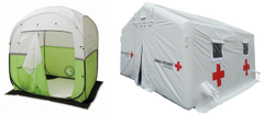 Heating Work Tents and Medical Tents
