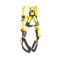 DBI Sala 1102008 Delta Fall Protection Harness - 3 D-Ring - BACK