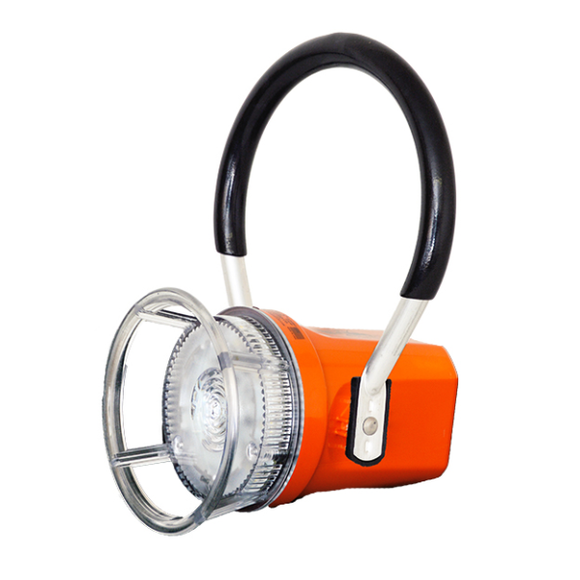 2012-LED trainman lantern - side view