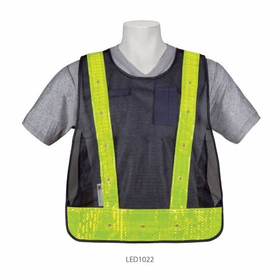 3A Safety LED1022 LED Lighted Safety Vest