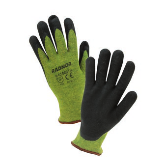 Radnor Kevlar Steel Blend Cut Level 4 Nitrile Coated Glove