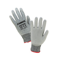 Radnor Light Gray HPPE Cut Level 2 Polyurethane Coated Glove