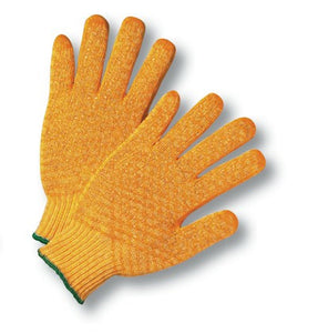 Radnor Crisscross Honeycomb Coated Polyester String Knit Glove