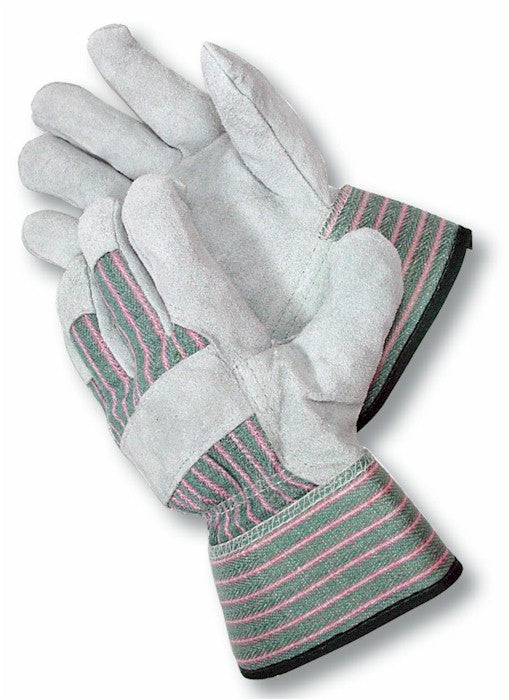 Radnor Select Shoulder Split Leather Palm Glove with Safety Cuff