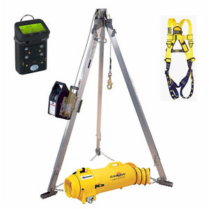 Major Safety CSK-D-G4-R Deluxe Confined Space Contractor Kit