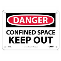 Danger Confined Space Keep Out