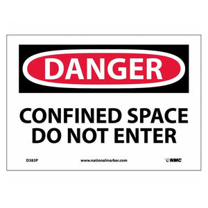 Danger Confined Space Do Not Enter