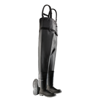 Dunlop 86067 Steel Toe Chest Wader Boot