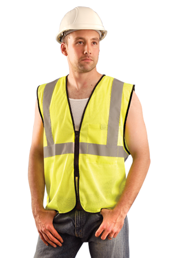 Occunomix ECO-GCZ ANSI Class II Mesh Safety Vest