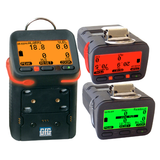 GFG G450 gas detector in alarm mode