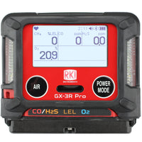 RKI GX-3R Pro Portable Gas Monitor with Bluetooth