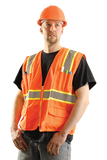 Occunomix LUX-ATRANS ANSI Class II Two-Tone Surveyor Vest