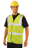 Occunomix LUX-SSCOOLG ANSI Class II Premium Cool Mesh Safety Vest