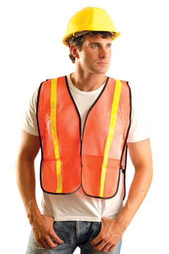 Occunomix LUX-XGTM Value Mesh Non-ANSI Safety Vest - Pack of 10