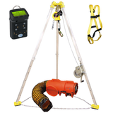 All in one confined space rescue kit