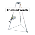 Miller Confined Space Winch and Manhole Tripod Rescue System