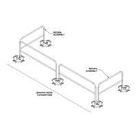 Safety Rail 2000 Drawing
