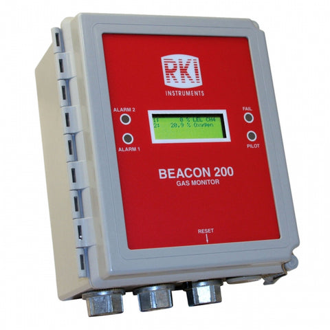 RKI Beacon 200 Fixed System Gas Detector Controller