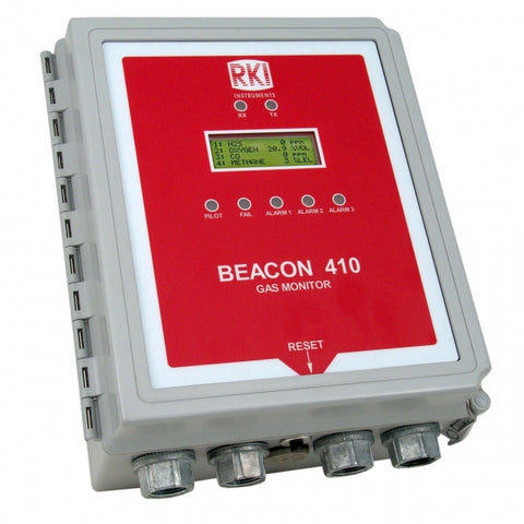 RKI Beacon 410 Fixed System Gas Detector Controller