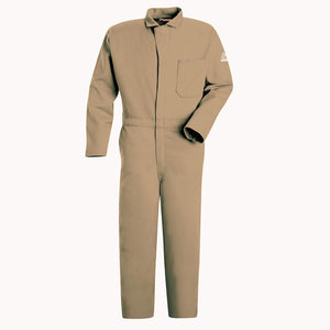 Bulwark CEC2KH Excel FR Flame-Resistant 9 oz Coverall - Khaki