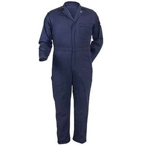 Bulwark CEC2NV Excel FR Flame-Resistant 9 oz Coverall - Navy Blue