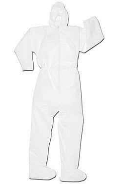 Keystone Keyguard MPF Disposable Coverall - Hood and Boot