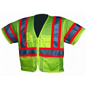 Dicke V155 ANSI Class III Contrast Mesh Safety Vest