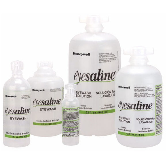 Eyesaline Personal Eyewash Bottles and Stations