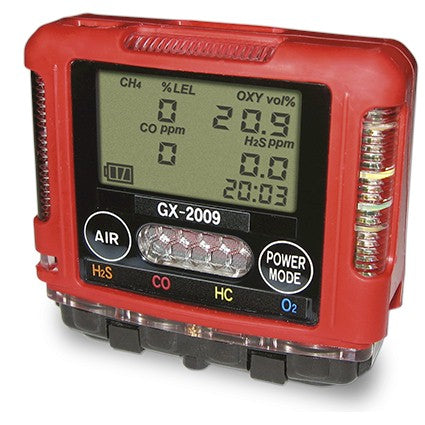 RKI GX-2009 Confined Space Gas Monitor