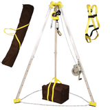 M-CSKit-25 tripod rescue system includes carry bags and harness