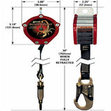 Miller PFL-2-Z7/9FT Scorpion Personal Fall Limiter Lifeline