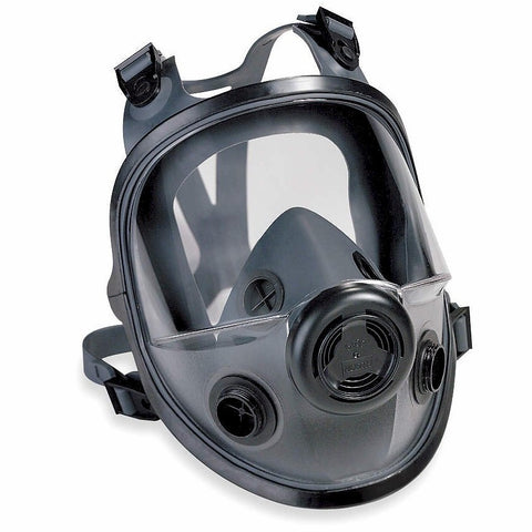 North 5400 Series Full Face Rubber Respirator