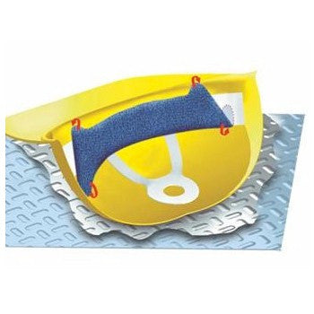 Occunomix 880 Terry Topper Clip-On Hard Hat Sweatband