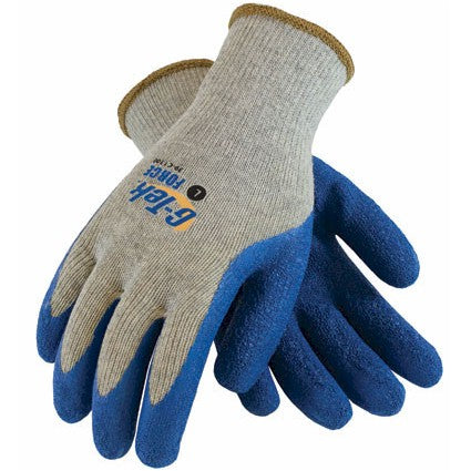 PIP C1300 G-Tek Force 10G Blue Latex Coated Glove