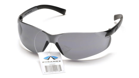 Pyramex S2520S Ztek Gray Lens Safety Glasses - front