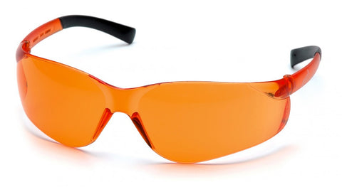 Pyramex S2540S Ztek Orange Lens Safety Glasses - front