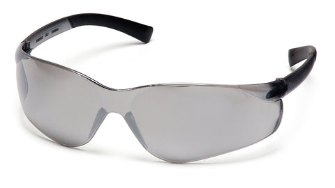 Pyramex S2570S Ztek Silver Mirror Lens Safety Glasses - front
