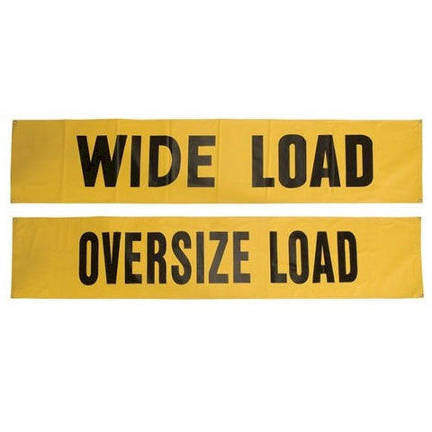 Safety Flag 8700 Series Wide Load Oversize Load Banner
