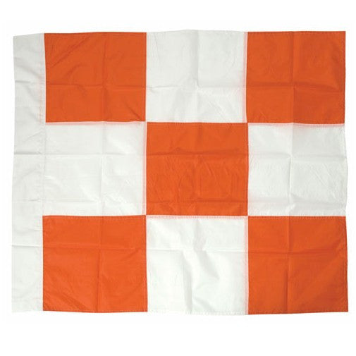 Heavy Duty Nylon Checkered Airport Flag