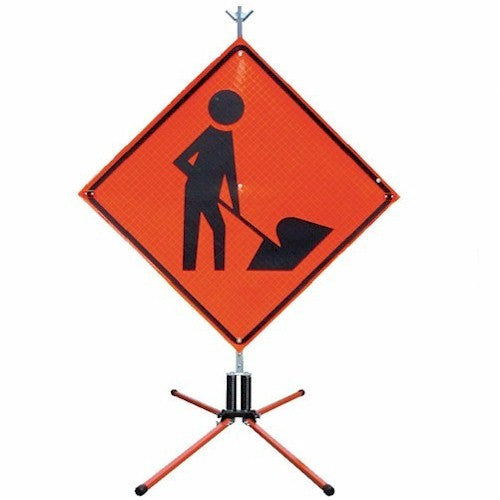 Safety Flag GAP-R&R Twin Flex Highway Sign Stand