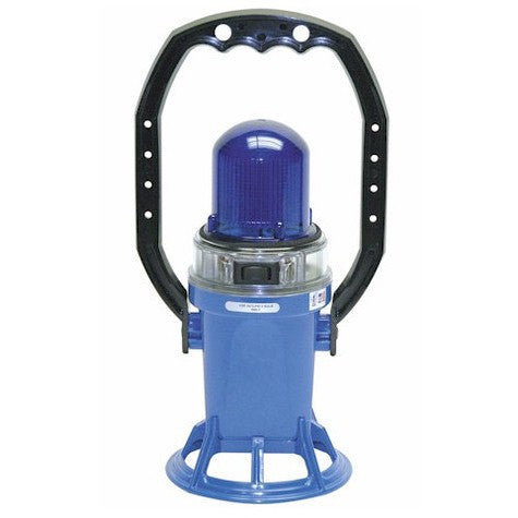 Star Headlight Model 215TL Blue Trainman Lantern