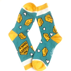 Women's Cheesy Socks