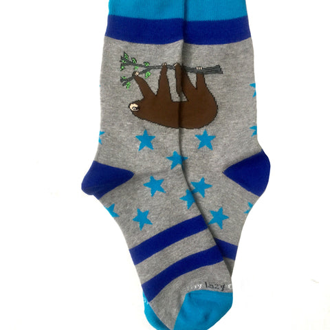 Lazy Day Sloth Socks for Women