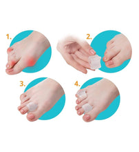 Load image into Gallery viewer, Gel Toe Spacers - 4 Pack - Celluvac