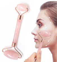 Load image into Gallery viewer, Facial Kit Pro - With Rose Quartz Crystal Roller