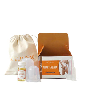 Celluvac Full Massage Kit - Silicone body and facial cups