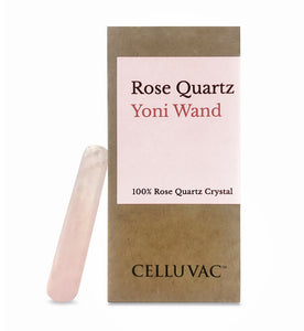 Rose Quartz Wand - 100% Rose Quartz Crystal