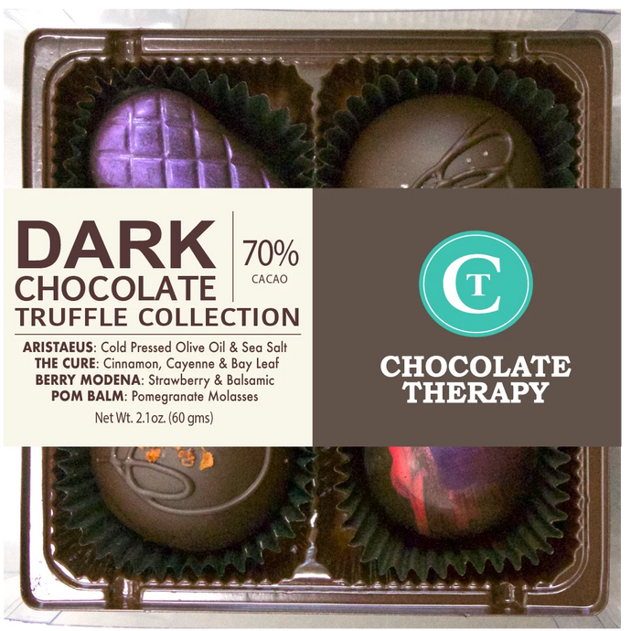 4 pc Dark Chocolate Collection